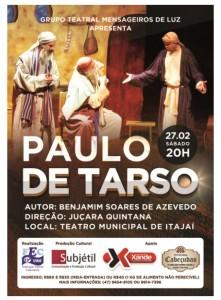 cartaz Paulo de Tarso